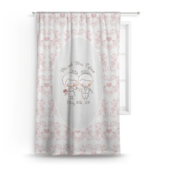 Wedding People Curtain (Personalized)
