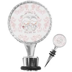 Wedding People Wine Bottle Stopper (Personalized)