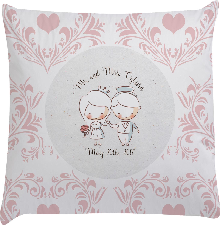Wedding People Decorative Pillow Case (Personalized) - YouCustomizeIt