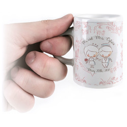 Wedding People Espresso Cups (Personalized)