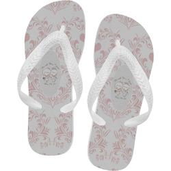 Wedding People Flip Flops (Personalized)