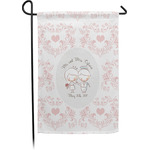 Wedding People Garden Flag - Single or Double Sided (Personalized)