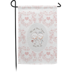Wedding People Single Sided Garden Flag With Pole (Personalized)