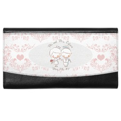 Wedding People Genuine Leather Ladies Wallet (Personalized)