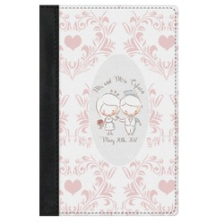 Wedding People Genuine Leather Passport Cover (Personalized)