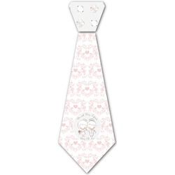 Wedding People Iron On Tie (Personalized)