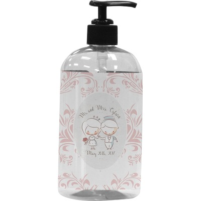 Wedding People Plastic Soap / Lotion Dispenser (Personalized)
