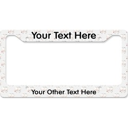 Wedding People License Plate Frame (Personalized)