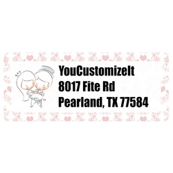 Wedding People Return Address Labels (Personalized)