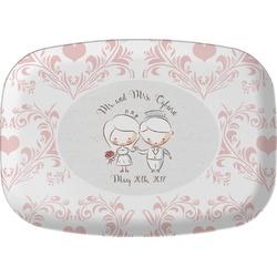Wedding People Melamine Platter (Personalized)
