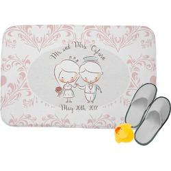 Wedding People Memory Foam Bath Mat (Personalized)