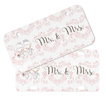 Wedding People Mini/Bicycle License Plates (Personalized)