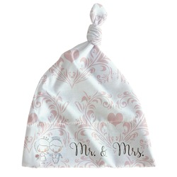 Wedding People Newborn Hat - Knotted (Personalized)