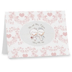 Wedding People Notecards (Personalized)
