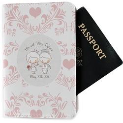 Wedding People Passport Holder - Fabric (Personalized)