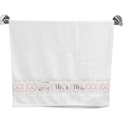 Wedding People Bath Towel (Personalized)