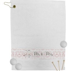Wedding People Golf Towel (Personalized)