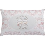 Wedding People Pillow Case (Personalized)