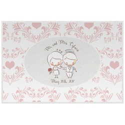 Wedding People Placemat (Laminated) (Personalized)