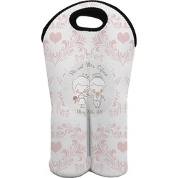 Wedding People Wine Tote Bag (2 Bottles) (Personalized)