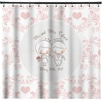 Wedding People Shower Curtain (Personalized)