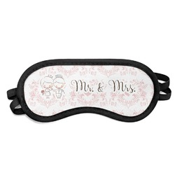Wedding People Sleeping Eye Mask (Personalized)