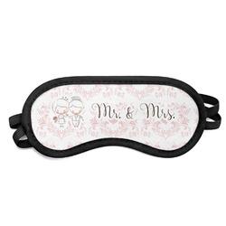Wedding People Sleeping Eye Mask (Personalized)