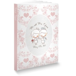 """Wedding People Softbound Notebook - 7.25"""" x 10"""" (Personalized)"""