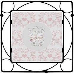 Wedding People Square Trivet (Personalized)