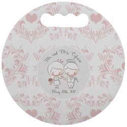 Wedding People Stadium Cushion (Round) (Personalized)