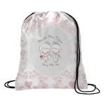 Wedding People Drawstring Backpack (Personalized)