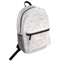 Wedding People Student Backpack (Personalized)