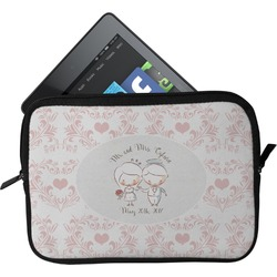 Wedding People Tablet Case / Sleeve (Personalized)
