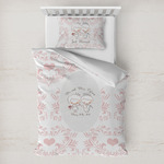 Wedding People Toddler Bedding w/ Couple's Names