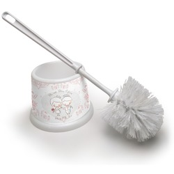 Wedding People Toilet Brush (Personalized)