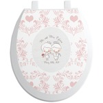Wedding People Toilet Seat Decal (Personalized)
