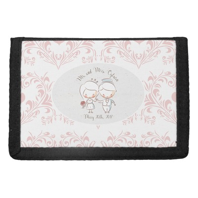 Wedding People Trifold Wallet (Personalized)