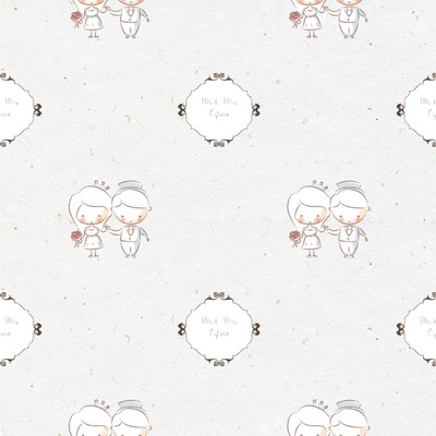 Wedding People Wallpaper & Surface Covering