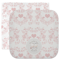 Wedding People Facecloth / Wash Cloth (Personalized)