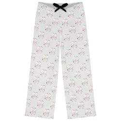 Wedding People Womens Pajama Pants (Personalized)