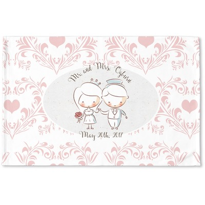 Wedding People Woven Mat (Personalized)