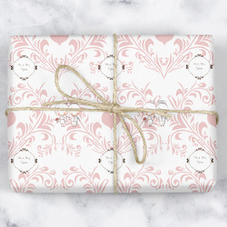 Wedding People Wrapping Paper (Personalized)