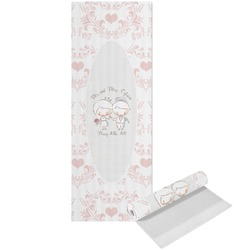Wedding People Yoga Mat - Printed Front (Personalized)