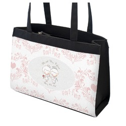 Wedding People Zippered Everyday Tote (Personalized)