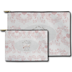 Wedding People Zipper Pouch (Personalized)
