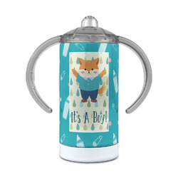 Baby Shower 12 oz Stainless Steel Sippy Cup