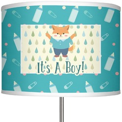 """Baby Shower 13"""" Drum Lamp Shade (Personalized)"""