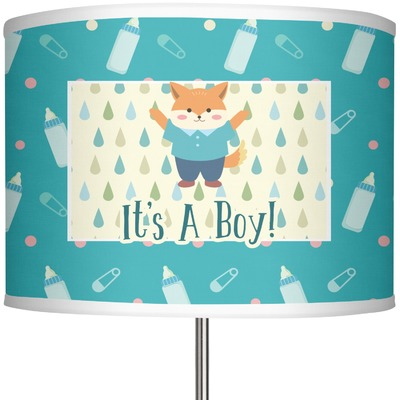 "Baby Shower 13"" Drum Lamp Shade (Personalized)"