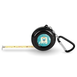 Baby Shower Pocket Tape Measure - 6 Ft w/ Carabiner Clip (Personalized)