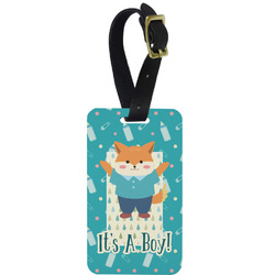 Baby Shower Aluminum Luggage Tag (Personalized)